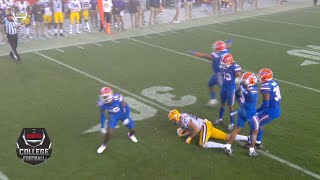 Florida defender throws cleat in wild ending vs. LSU | 2020 College Football Highlights