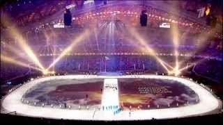 Sochi 2014 Opening Ceremony Projections - Making off