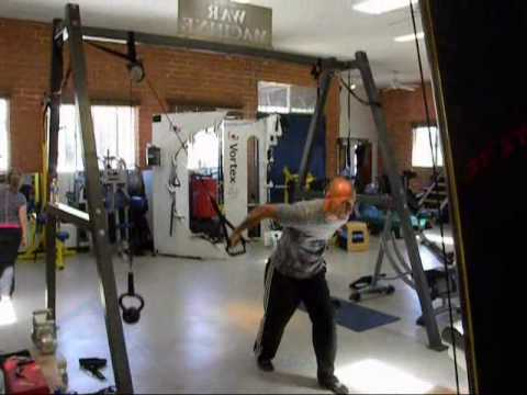 Cable Crossover Machine That Fits Into A Gym Bag Youtube