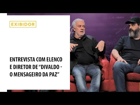 Bruno Garcia conta como foi viver Divaldo Franco no cinema