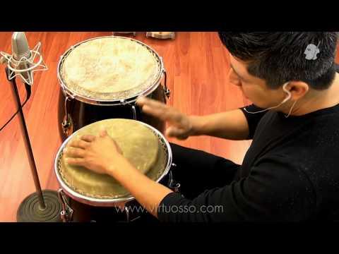Clases de percusiones, Cómo tocar Son Montuno con congas