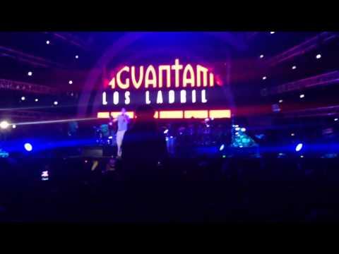 El aguante - Calle 13 en vivo. EMF Guatemala 2014