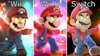 Super Smash Bros Switch vs Wii U vs Wii Final Smash Comparison