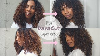 My Deva Cut Experience - Layers and Fringe