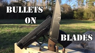 Can a knife really split a bullet?...