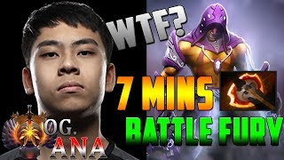 OG.ANA | Anti-Mage better than MIRACLE [2019]