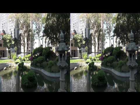 3D - Praca do Japao 2 - Curitiba PR - Sony HDC-CX130