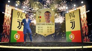 94 CRISTIANO RONALDO PACKED! FUT CHAMPS GOLD 3 REWARDS AND DIVISION RIVALS REWARDS!