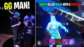 Killing NINJA in Fortnite Mobile