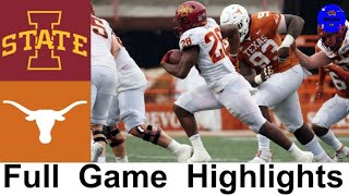 #13 Iowa State vs #17 Texas Highlights | College Football Week 13 | 2020 College Football Highlights