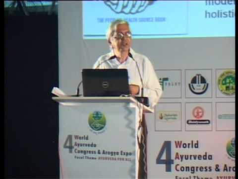 Ayush and Public Health - Speech Delivered by Dr.Ravi Narayan