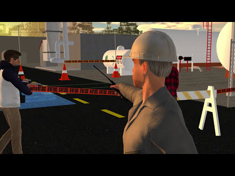 Safety Unlimited, Inc. Animation Trailer for Online 24 Hour Hazmat Technician