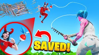 Top 10 LUCKIEST Moments In Fortnite CHAPTER 2!