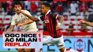 🔴 REPLAY | OGC Nice 1-1 AC Milan | Match en intégralité