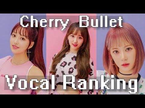 Cherry Bullet Vocal Ranking