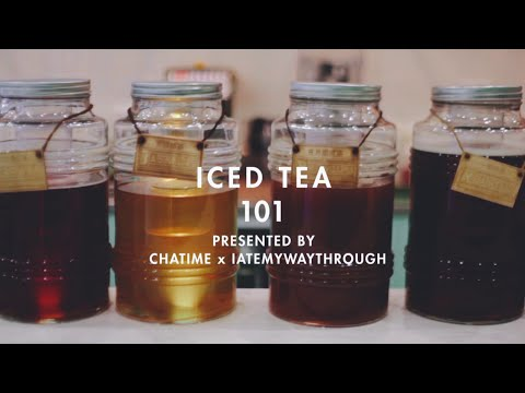 Iced Tea 101