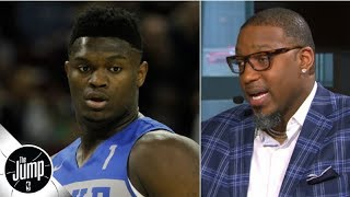 Tracy McGrady concerned about Zion Williamson's size: He'll have to 'drop some weight' | The Jump