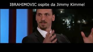 "IBRAHIMOVIC ""VADO AL MONDIALE"", opsite da Jimmy Kimmel dopo il GOL ALL'ESORDIO (sub ITA)"