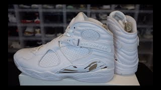 JORDAN 8 OVO WHITE REVIEW