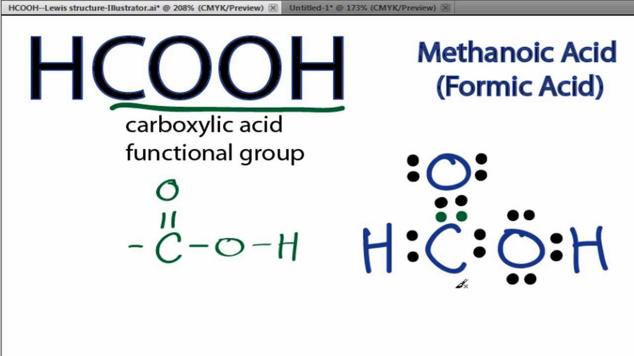 HCOOH Lewis Structure: How to Draw the Lewis Structure for ...