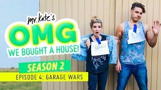 Garage Wars! | OMG We Bought A House!
