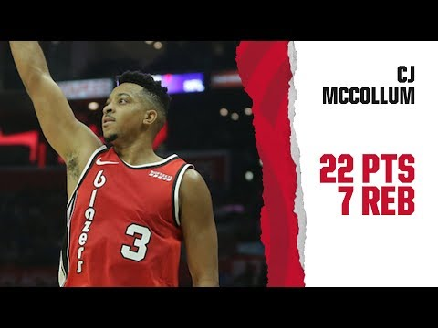 CJ McCollum (22 points) Highlights | Trail Blazers vs. LA Clippers