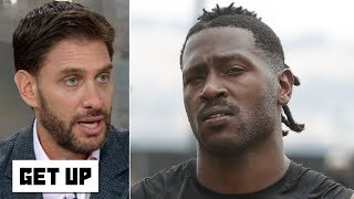 Antonio Brown may not last this season with the Raiders - Mike Greenberg | Get Up