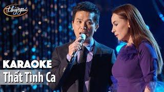 Karaoke   Thất Tình Ca (Phi Nhung & Mạnh Quỳnh)
