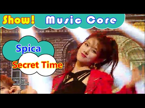 [Comeback Stage] Spica - Secret Time, 스피카 - 시크릿 타임 Show Music core 20160827