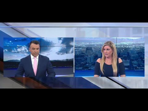 Earthquake on-air during newscast
