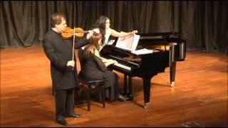 Deniz Yildiz - İshak Paşa'dan Topkapı'ya - composer: Deniz YILDIZ - violin: Cihat AŞKIN - piano: Mehru ENSARİ