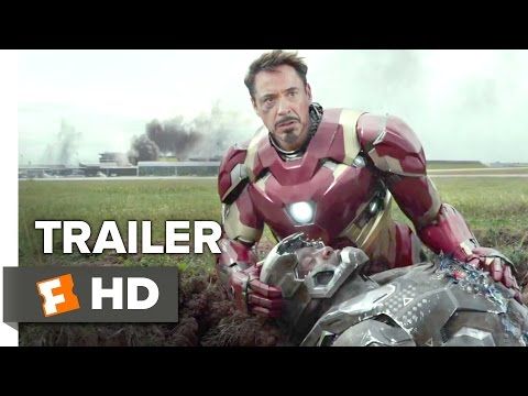 Captain America: Civil War Official Trailer #1