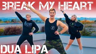 Dua Lipa - Break My Heart   Caleb Marshall   Dance Workout