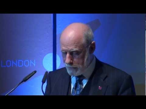 Vint Cerf Keynote at ISOC's 20th Anniversary INET, 2012