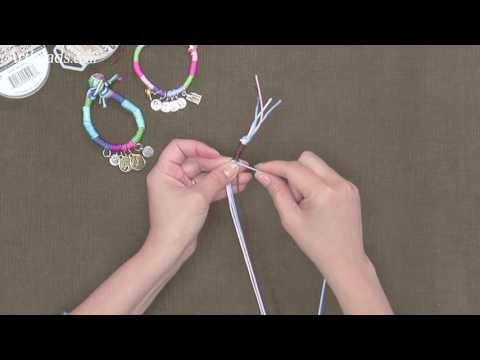 Artbeads Mini Tutorial - Thread Wrapping with Multiple Cords with Cynthia Kimura