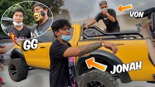 NAG HARAP ULI SI VON AT JONAH!! *ang init* (Battle of Youtubers Behind the scenes)