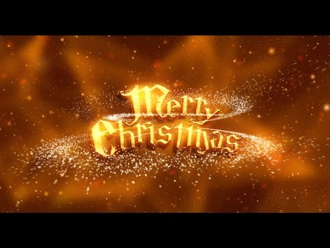 Christmas Countdown 10 sec ( v 492 ) happy holidays timer with sound effects HD 4k!