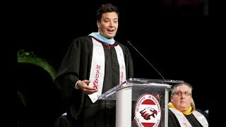 [FULL SPEECH] Jimmy Fallon Surprise Speech at Parkland's Graduation Class 2018