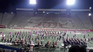 "Fresno State Marching band and colorguard ""The Greatest Showman"""