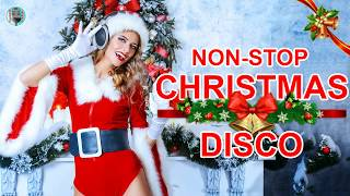 DISCO Christmas Disco Song MegaMix II Non stop Christmas Songs Medley Disco Remix