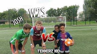 TEKKERZ KID vs W2S | Bro vs Bro Woodwork Challenge!!