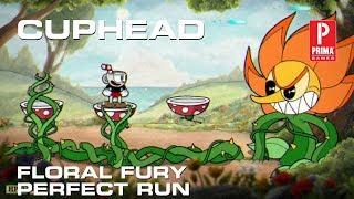 Cuphead - Floral Fury Boss Fight (Perfect Run)