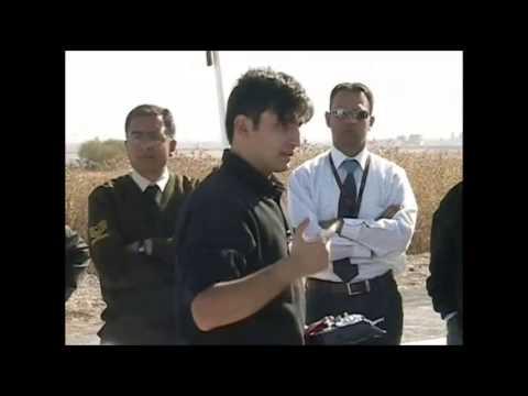 2005 Ekim: Selçuk Bayraktar Mini İHA Uçuş Demosu kapanış konuşması
