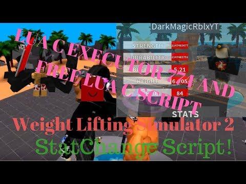 FREE! Updated! ROBLOX Weight Lifting Simulator 2 LUA C