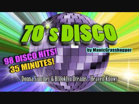 70's Disco Compilation • 98 Disco Hits!!