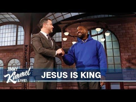 Kanye West Surprises Kimmel in Brooklyn