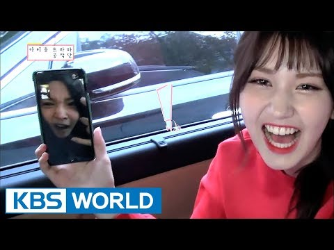 Somi practices acting with Chung Ha on the phone! [ENG/CHN/IDOT Ep.3]