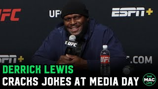 """Derrick Lewis: """"I want a piece of Alistair Overeem. Clap them cheeks"""""""