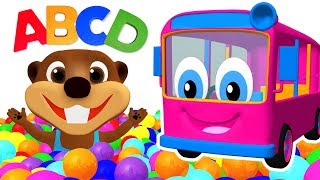 Kids Learn Colors & ABCs with Color Songs & Toys | Teach ABC Song for Children + More Nursery Rhymes