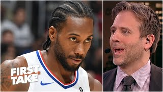 Max Kellerman has unwavering faith in Kawhi to beat out LeBron, Lakers for the title | First Take